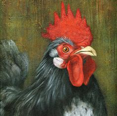 A Chicken Painting Every Day
