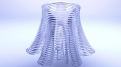 Dubbed G3DP (Glass 3D Printing), the method is the first-of-its-kind optically transparent glass printing process using a fully functional material extrusion printer