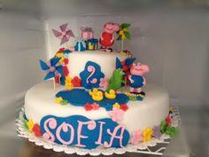 Torta peppa pig Peppa Pig, Birthday Cake, Desserts, Food, Tailgate Desserts, Birthday Cakes, Deserts, Essen, Dessert