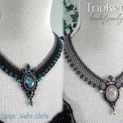 Necklace 'Lady Mary' - Beadwoven - via @Craftsy