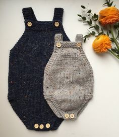 Little Brother's Romper pattern Baby Clothes Patterns, Baby Patterns, Knitting Patterns, Sewing Patterns, Knitting For Kids, Baby Knitting, Knit Or Crochet, Crochet Baby, Body Baby