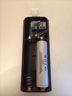 Battery powered WiFi Temperature and Humidity to cloud logger with minimum amount of components and long lasting battery life. Deep sleeps between readings. Diy Electronics, Electronics Projects, Electrical Projects, Rasberry Pi, Raspberry, Esp8266 Projects, Esp8266 Arduino, Circuit Board Design, Process Control
