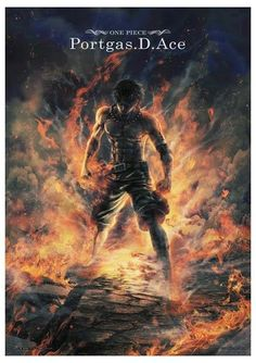 #anime #onepiece #portgasdace #ace #firefist #fire #fist #fanart #art