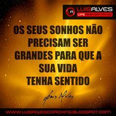LUIS ALVES FRASES
