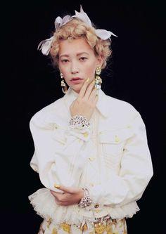 Jewel-Encrusted Fashion : Meadham Kirchhoff SS13