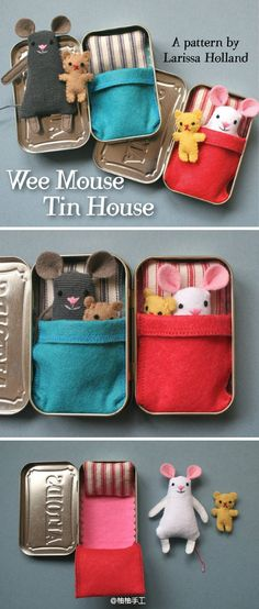 Elke needs! Wee Mouse Tin House.