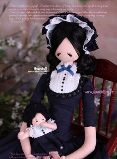 Анастасия Ковтонюк: бутик Текстильери: Подборка необыкновенно красивых корейских кукол - тряпиенс