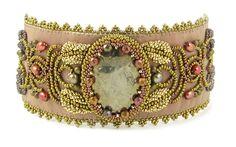 Avalon Bead Embroidery Bracelet instant par AnnBensonBeading