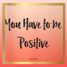 Try being positive and see what kind of difference it makes.  Click to read more or pin for later