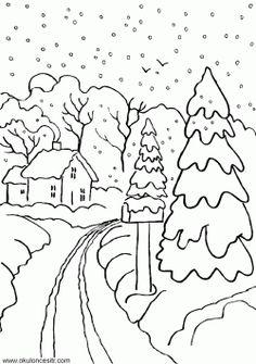 50 Harika 4 Mevsim Ağacı Boyama Yazdırılabilir Boyama Sayfaları