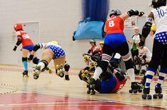 Bristol Roller Derby Vs Mean Valley All Stars § Sports Photography § Bristol