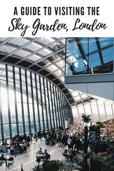 Are you planning a visit to 20 Fenchurch Street? Make sure you know these things before you book! Here's my guide to visiting the Sky Garden including 10 Things to Know About Visiting the Sky Garden, London. Europe Travel Guide, Travel Destinations, Travel Guides, Travel Tips, London Activities, London City Guide, Best Countries To Visit, Overseas Travel, Travel Uk