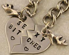 Sexy Bitches Key Chain - Best Friend Gift $25.00