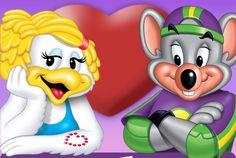 Chuck E Cheese Pizza, Showbiz Pizza, Disney Characters, Rocks, Videogames, Art, Stone, Batu, Stones