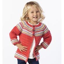 Cutie Bug Cardi - Premier Yarns Tutorial ╭⊰✿Teresa Restegui http://www.pinterest.com/teretegui/✿⊱╮