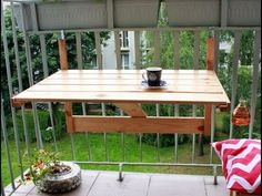 Откидной столик - Folding table Love these projects!