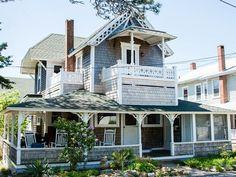 Oak Bluffs House Rental: Updated & Elegant, In-town Waterview Victorian. 1 Block From Beach.   HomeAway