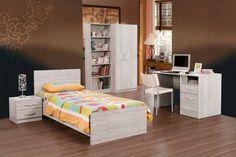 EURE - Eure est la chambre à coucher idéale pour votre jeune qui grandit tous les jours | Meubles Toff