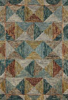 3d Max, Indoor Rugs, Geometric Designs, Minimal Design, Textures Patterns, Fabric Patterns, Cool Rugs, Wool Area Rugs, Vibrant Colors