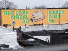 this love is real...so dinner is on me...(mural art Philadelphia)