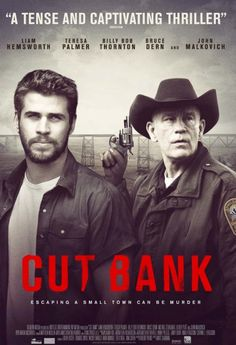 Cut Bank: Directed by Matt Shakman with John Malkovich, Bruce Dern, Billy Bob Thornton, and Liam Hemsworth (Scam postal worker death in small Montana town) 2015 Movies, Movies 2019, Hd Movies, Movies To Watch, Movie Tv, Movies Showing, Movies And Tv Shows, Montana, Serial Killers