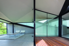 """Pitched Roof House by Chenchow Little """"Location: Sydney, Australia"""" 2011"""