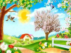 Garden Mural, Borders For Paper, School Decorations, Clipart, Gorgeous Men, Flower Art, Art For Kids, Origami, Nursery