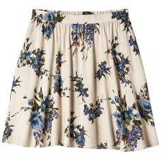 Xhilaration Juniors Circle Skirt (€11) ❤ liked on Polyvore featuring skirts, bottoms, saias, faldas, skater skirt, flared skirt, xhilaration, black skater skirt and black skirt