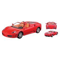 Braha Ferrari F430 Spider R/C Car, Red