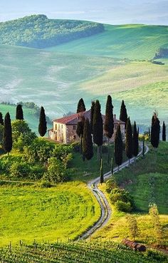 Tuscany, Italy ....on my list!