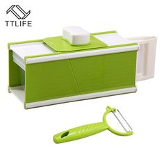 TTLIFE 2017 Hot 5 in1 Rectangle Mandoline Slicer Vegetable Potato Carrot Cutter Peeler Slicer Grater Kitchen Accessories Sets. Yesterday's price: US $27.77 (24.42 EUR). Today's price: US $19.16 (16.68 EUR). Discount: 31%.