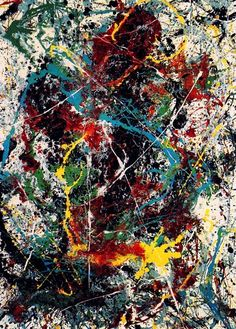 Today is Jackson' Pollock's 103rd birthday (1/18/15) Number 31 (1950)