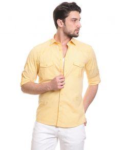 Gömlek : Toss Erkek Gömlek - Sarı