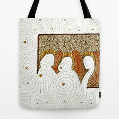 Looking for the angels Tote Bag