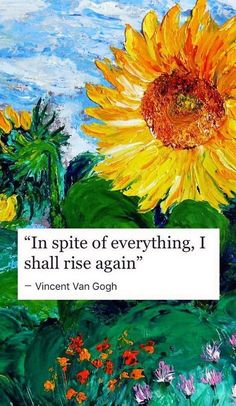 Trendy Ideas For Art Quotes Van Gogh Artists Vincent Van Gogh, Arte Van Gogh, Van Gogh Art, Pretty Words, Beautiful Words, Van Gogh Tapete, I Shall Rise, Van Gogh Wallpaper, Poetry Wallpaper