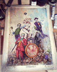 J Scott Campbell, Dark Fantasy Art, Scooby Doo, Vintage Tattoo Art, Dark Alice In Wonderland, Horror Cartoon, Art Anime, True Art, Geek Art