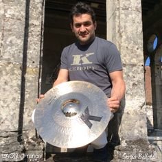Liberté, égalité, fraternité, groovyté!  The Zildjian #KCustom Hybrid series is among the most versatile out there and has also a unique look and feel to it that makes it a new classic in the world of cymbals. #monument #Laon #France Centre Hospitalier   #Sergio #Bellotti #drummer #Boston #Massachusetts @zildjiancompany #zildjian