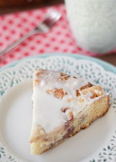 Raspberry Cream Cheese Coffeecake from @Kristan Roland