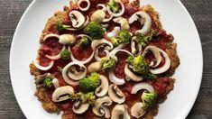 Pizzaboden aus Thunfisch! Low Carb & lecker