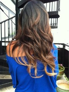 This is what I'm going for. #ombrehair
