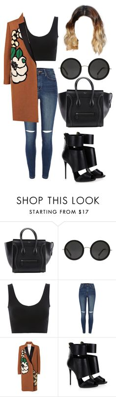 """""""Untitled #2121"""" by janaemolett ❤ liked on Polyvore featuring Mode, The Row, River Island, By Malene Birger und Giuseppe Zanotti"""