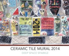 Kimmy-Cantrell-Inspired ceramic tile mural