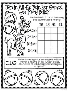 A Holiday Math Freebie For You, From Me!