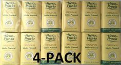 HENO DE PRAVIA  4 SETS OF 2 SOAPS PLUS 1 FREE AND EACH IS 4 OZ 4PACK 12 SOAPS * More info could be found at the image url.(This is an Amazon affiliate link and I receive a commission for the sales)