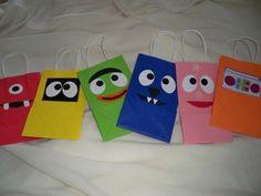 Yo Gabba Gabba gift bags