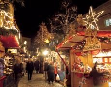 The Basel Christmas market at Barfüsserplatz and Münsterplatz is considered to be one of the prettiest and largest in Switzerland.
