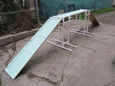 Real DIY agility equipment. with Recycled Materials.