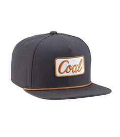dc902666453cb The vintage look of the Coal logo on this hat is perfectly understated and  classic enough to go with anything without being boring.