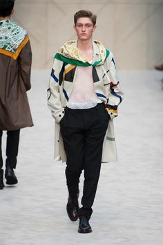 Fall/Winter 2014 Menswear Fashion Trends from London Collections: Men image burberry prorsum fall winter 2014 show 0002