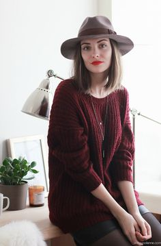 Maroon Sweaters Are My Favorite!
